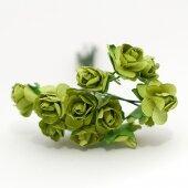 Розочки зелёные