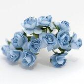 Розочки голубые
