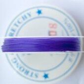 Силиконовая резинка фиолетовая