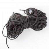 Шнур эластичный чёрный