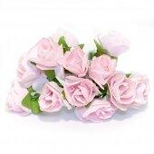 Розочки бледно розовые