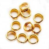 Кольцо соединительное двойное золото