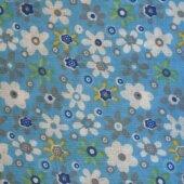 Ткань для тильды Blue flower field