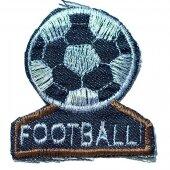 Аппликация джинсовая Football
