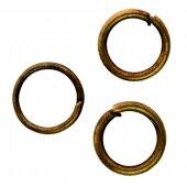 Кольцо соединительное  бронза 4 мм