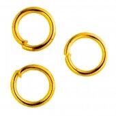 Кольцо соединительное золото 4 мм