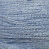 Акриловая нить голубая №3