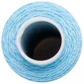 Нить швейная №40 голубая