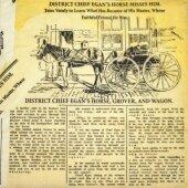 Салфетка для декупажа Старая газета